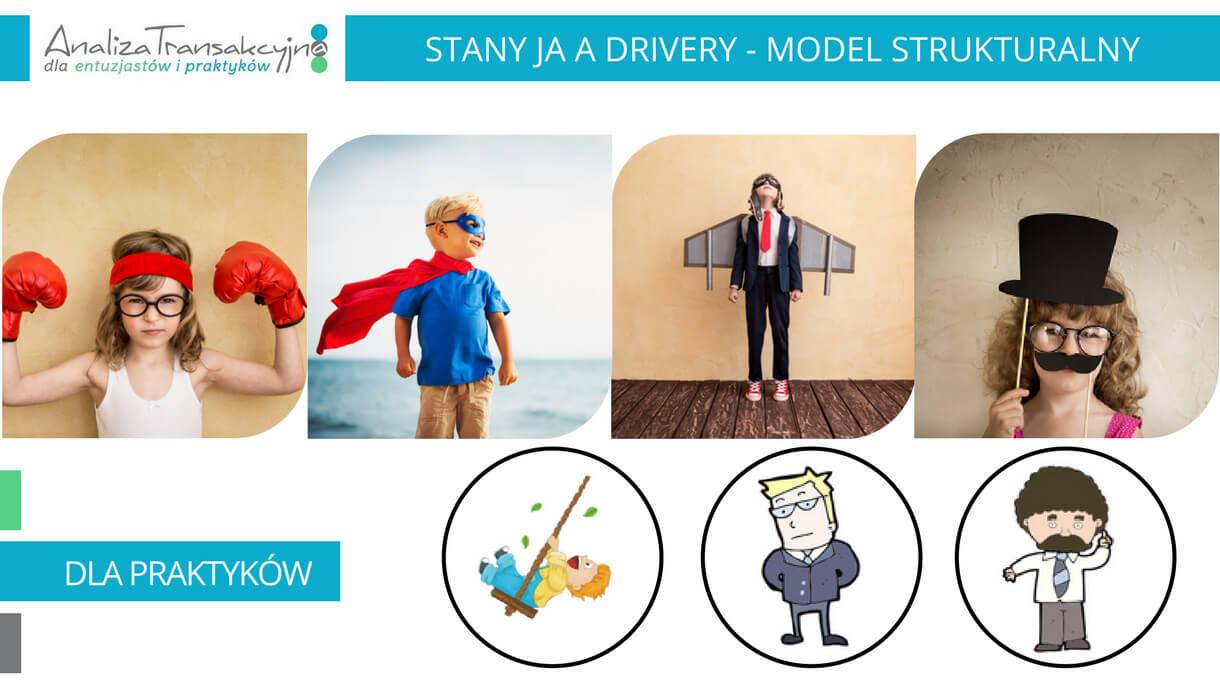 Analiza Transakcyjna, model strukturalny, drivery, adaptacje osobowości