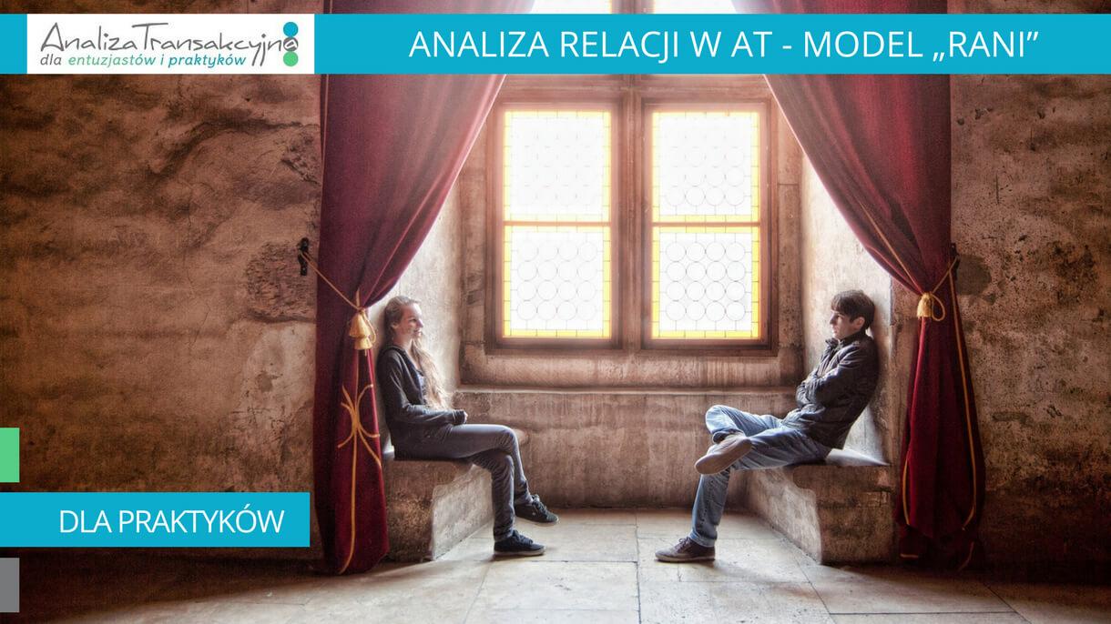 Analiza Transakcyjna, model RANI, terapia par, szczęśliwy związek, budowanie relacji